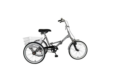 7. Mantis Tri-Rad Folding Adult Tricycle