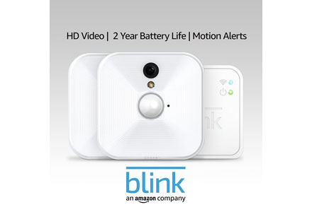 8. Blink Indoor Security Home Security System.