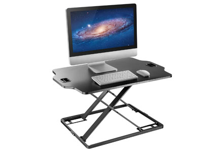6. Standing Desk Converter - Height Adjustable Sit to Stand Up Desk