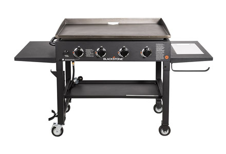 4. Blackstone 36 inch Outdoor Flat Top Gas Grill Griddle Station.