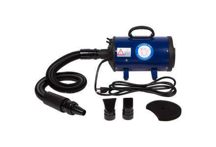 3. Flying simple Dog and cat Pet Force Dryer with a heater.