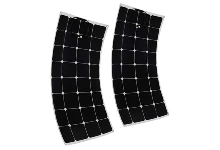 8. uxcell 2pcs 100W 18V Solar Panel Charger Solar Cell Ultra Thin Flexible