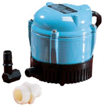 8. LITTLE GIANT 500500 1-AA-18 Submersible Cover Pump