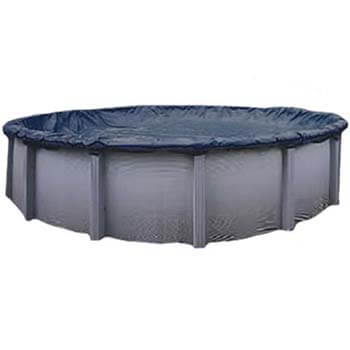 10. 8-Year 24 ft Round Pool Winter Cover