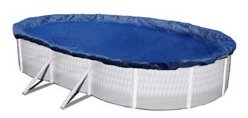 3. Blue Wave Gold 15-Year 18-ft Above Ground Pool Winter Cover