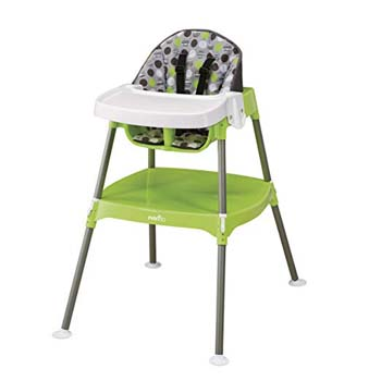 2: Evenflo Convertible High Chair, Dottie Lime