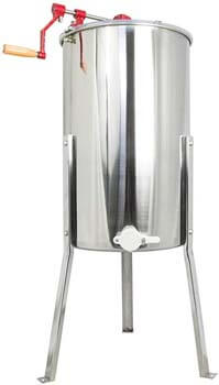 1. VIVO New Large Three 3 Frame Stainless Steel Honey Extractor