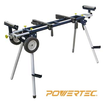 4. POWERTEC MT4000 Deluxe Miter Saw Stand