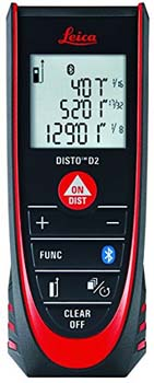 3. Leica DISTO D2 New 330ft Laser Distance Measure with Bluetooth 4.0