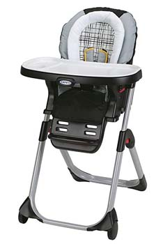 7: Graco DuoDiner 3-in-1 Convertible High Chair, Teigen