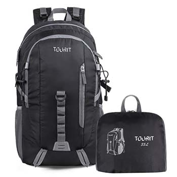 7. TOURIT Light Travel Hiking Backpack