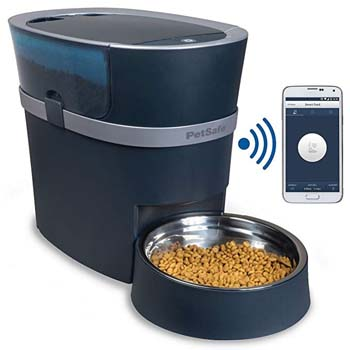 3. PetSafe Smart Feed Automatic Dog and Cat Feeder