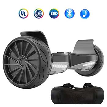 3: NHT All Terrain Hoverboard 8.5 Inch Wheels Off-Road Electric Smart Self Balancing Scooter