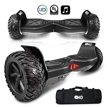 4: CHO Electric Hoverboard All Terrain Rugged Hoover Board