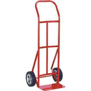 7. Milwaukee 47109 600-Pound Capacity Flow Back Handle Hand Truck