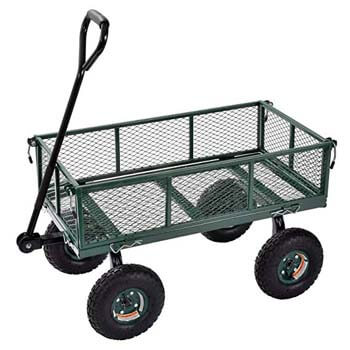 9. Sandusky Lee CW3418 Muscle Carts Steel Utility Garden Wagon