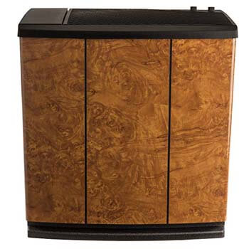 7. AirCare H12-400HB 3 Speed Whole-House Humidifier, Oak Burl