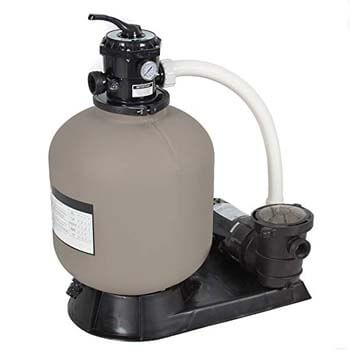 5. Best Choice Products 4500GPH Above Ground Swimming Pool Pump System