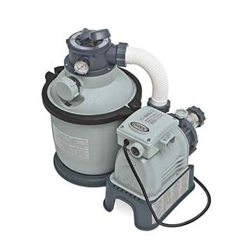 1. Intex Krystal Clear Sand Filter Pump for Above Ground Pools