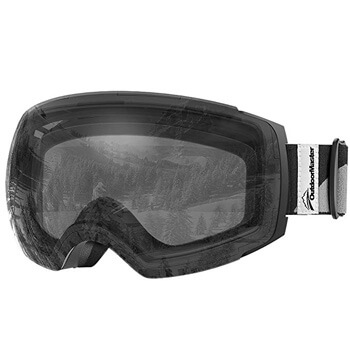 8. OutdoorMaster Ski Goggles PRO - Frameless