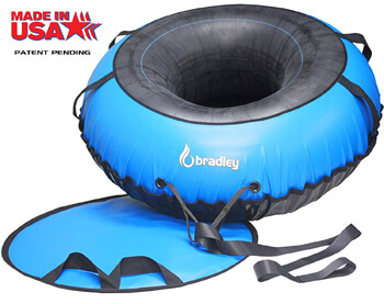 7. Bradley Ultimate Tow-able Snow Tube Sled