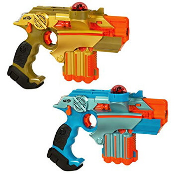 4. Nerf Official: Lazer Tag Phoenix LTX Tagger 2-pack