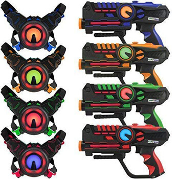 2. ArmoGear Infrared Laser Tag Blasters and Vests