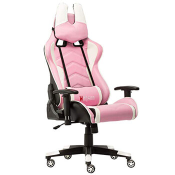 4: Racing Style Leather Gaming Chair Breathable Ergonomic Office Computer Chair