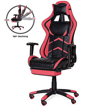 8: Best Choice Products Ergonomic High Back Executive Office Computer Racing Gaming Chair