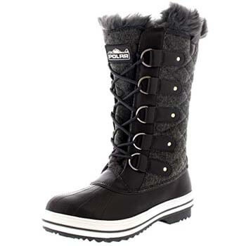 7: Polar Women's Nylon Tall Winter Snow Boot
