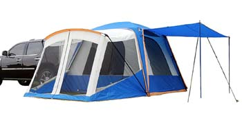 5. Napier Outdoors Sportz #84000 5 Person SUV Tent with Screen Room