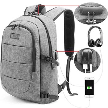4. Tzowla Business Laptop Backpack Water