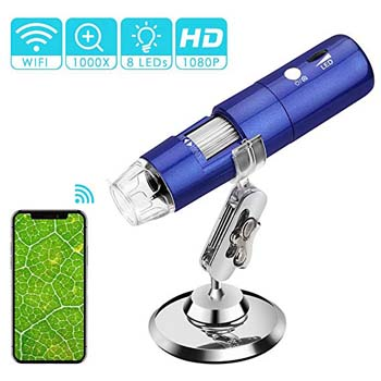 8.Wireless Digital Microscope, ROTEK 50x and1000x Microscope Magnification